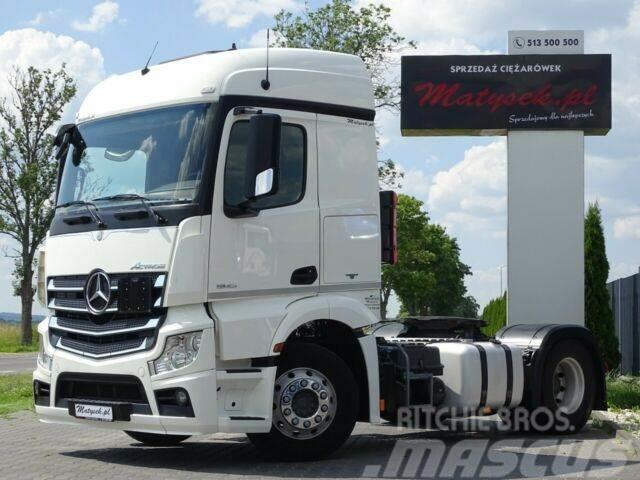 Mercedes-Benz ACTROS 1843 / FULL ADR / ALU WHEELS / EURO 6/PTO