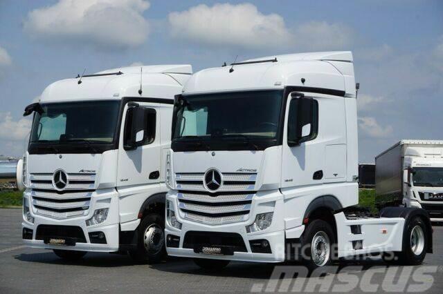 Mercedes-Benz ACTROS / 1845 / ACC / MP 4 / EURO 6 / RETARDER