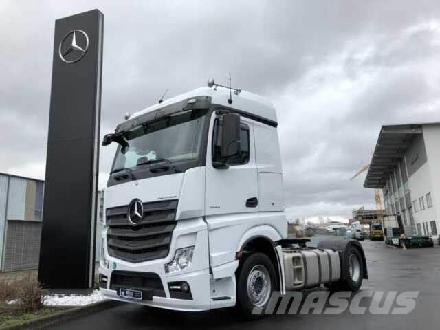 Mercedes-Benz Actros 1845 LS Standklima Nebenantrieb doppelt