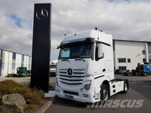 Mercedes-Benz Actros 1863 LS Retarder GigaSpace SoloStar PPC