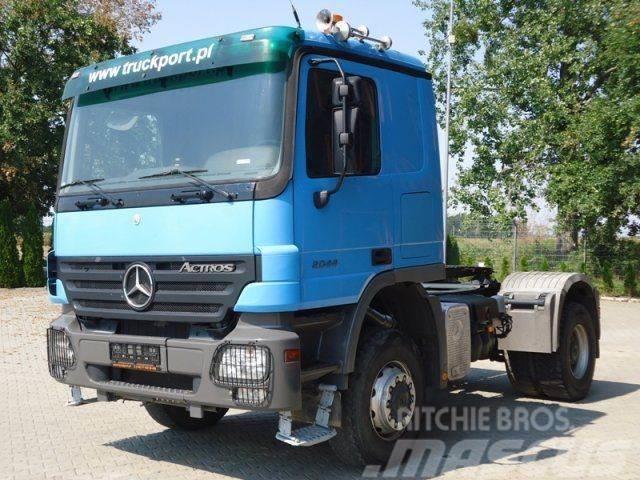 Mercedes-Benz ACTROS 2041 4x4 EURO4 SZM Mit Kipphydraulik