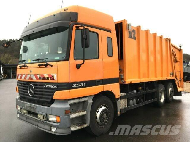 Mercedes-Benz Actros 2531 6x2 Haller M 20 x2 /Kombischütte /