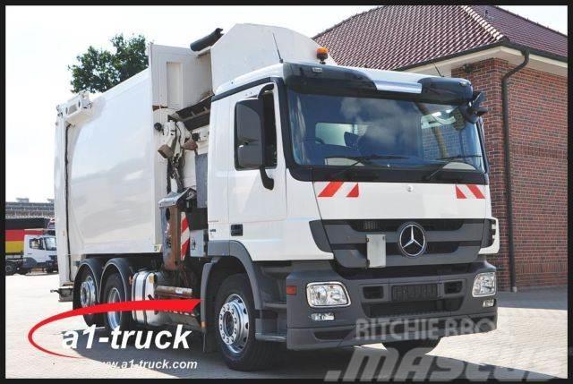 Mercedes-Benz Actros 2532 L 6x2 Speedline Seitenlader, 26 m³,