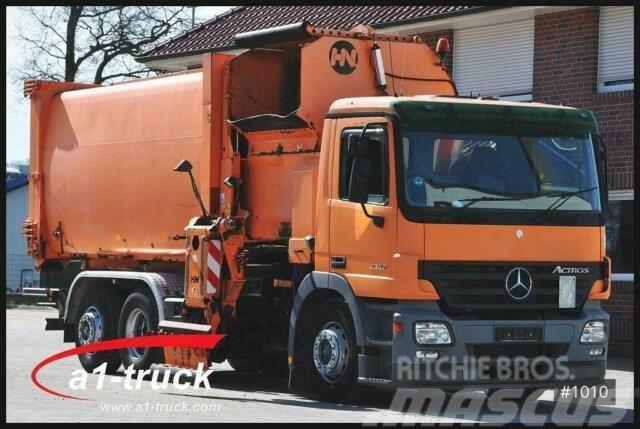 Mercedes-Benz Actros 2532 L 6x2 Euro 3 Seitenlader, Lenkachse