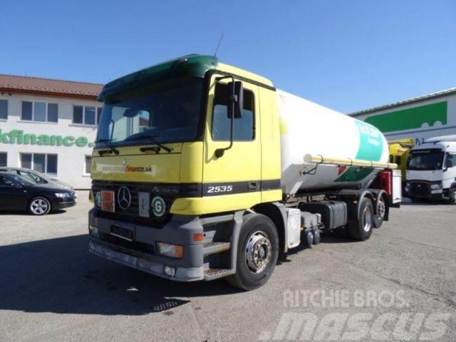 Mercedes-Benz ACTROS 2535,6x2 tank for LPG/gas ADR ,E3,Vin 811