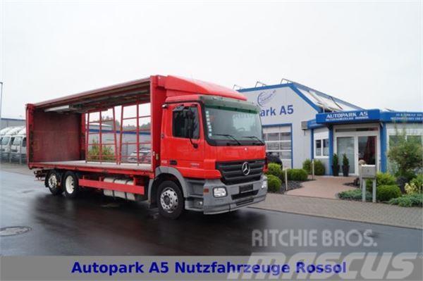 Mercedes-Benz Actros 2536 Pritsche + Plane Telligent LBW 3x