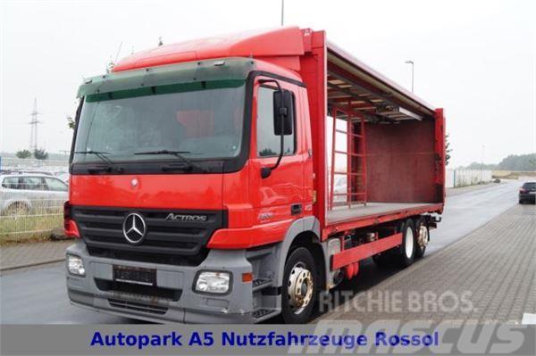 Mercedes-Benz Actros 2536 Pritsche + Plane Telligent kein 2541
