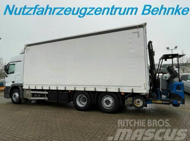 Mercedes-Benz Actros 2541 L Pritsche/Plane/Stapleraufnahme/E5