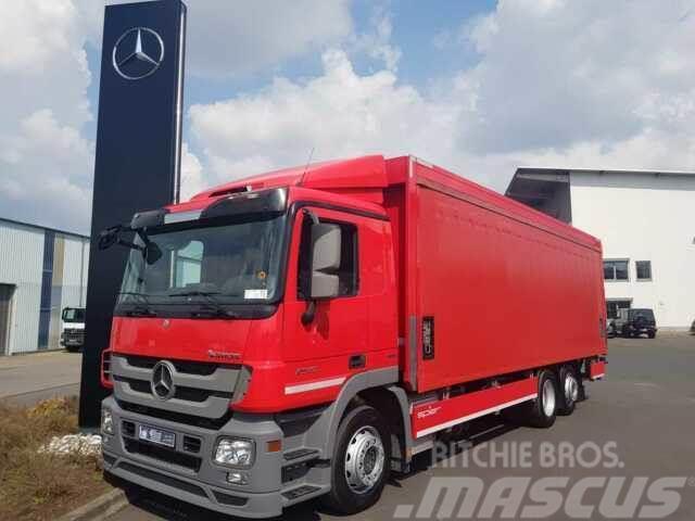 Mercedes-Benz Actros 2541 L Getränkepritsche LBW RFK Schiebepl