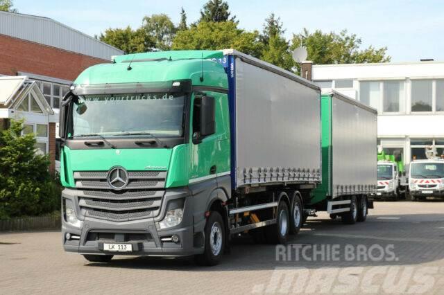 Mercedes-Benz Actros 2542 E6/Retarder/LBW/Plane/kompletter Zug