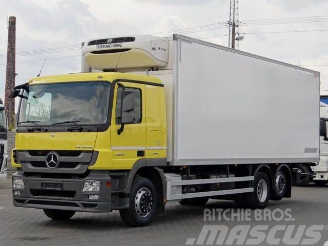 Mercedes-Benz ACTROS 2544 / 6X2 / CHŁODNIA 21 EUROPALET /