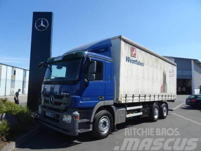 Mercedes-Benz Actros 2544 LL 6x2 Pritsche/Plane Lenkachse