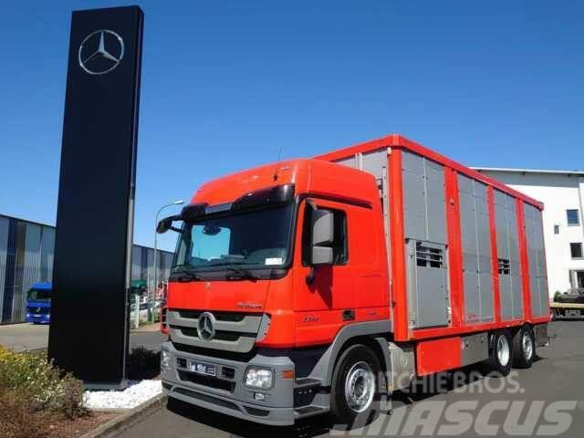 Mercedes-Benz Actros 2544 L 6x2 Viehtransporter Ka-Ba 2 Stock