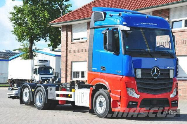 Mercedes-Benz Actros 2545 BigSpace, LBW Navi Safety Multiwechs