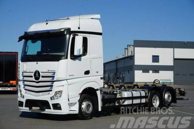 Mercedes-Benz ACTROS / 2545 / E 6 / ACC / BDF-MULTIWESCHLER /