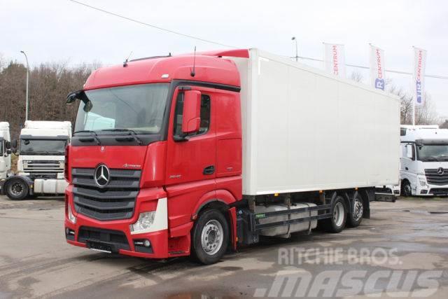 Mercedes-Benz ACTROS 2545 L/NR 6X2, EURO 5 EEV, CARRIER SUPRA