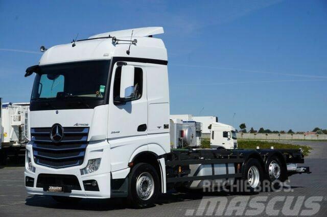 Mercedes-Benz ACTROS / 2548 / E 6 / ACC / BDF + WINDA / PEŁNY