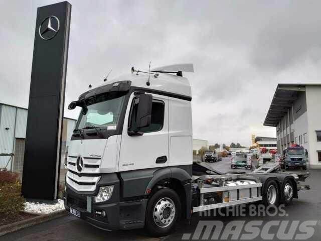 Mercedes-Benz Actros 2548 L BDF Multi-Wechsler + LBW 6 Sitze