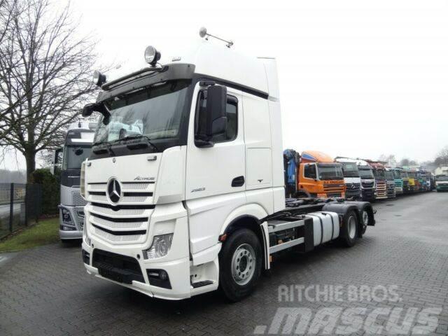 Mercedes-Benz ACTROS 2563 6X2 Haken Hiab Multilift