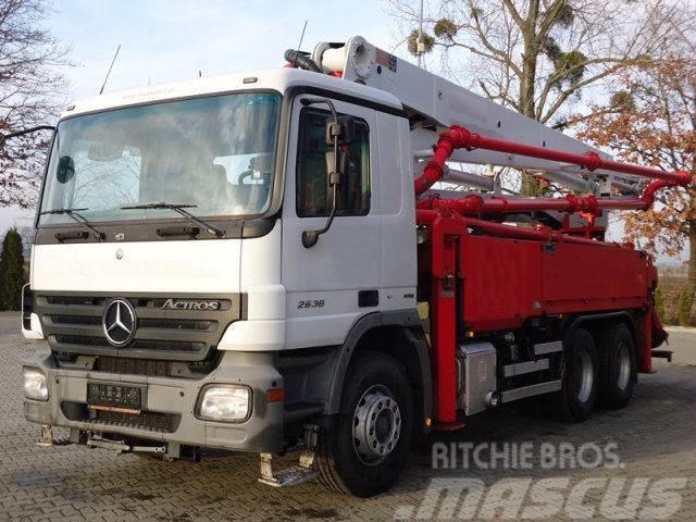Mercedes-Benz ACTROS 2636 6x4 EURO5 SCHWING 34M Betonpumpe