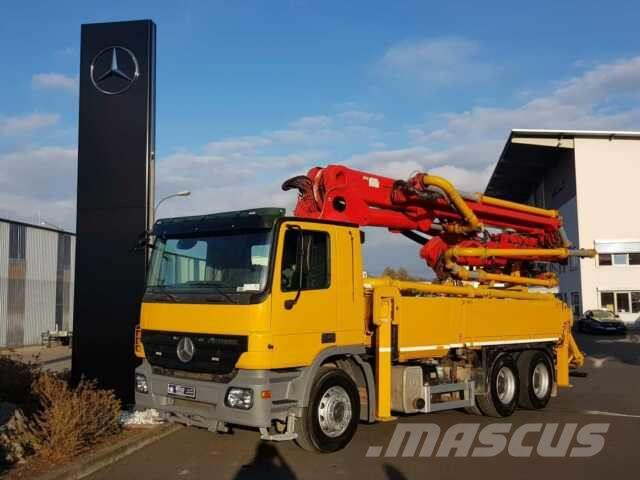 Mercedes-Benz Actros 2636 6x4 Schwing S 31 HT BR03 Teleskop