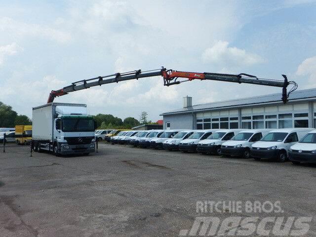 Mercedes-Benz Actros 2636 L KRAN 6X4 Palfinger PK 27002 +PJ060