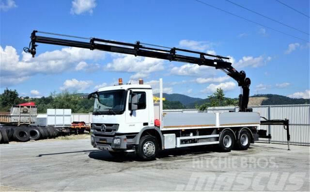 Mercedes-Benz Actros 2636 Pritsche 6,80 m+KRAN/FUNK* 6x4!