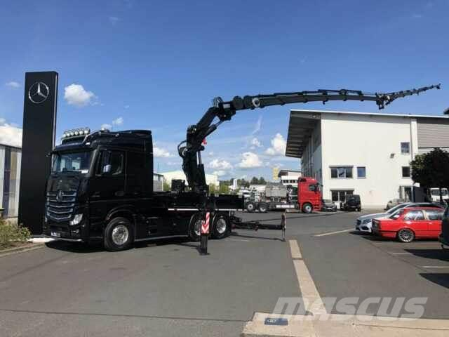 Mercedes-Benz Actros 2642 L 6x4 MKG HLK 531 HP a6 JIB + Winde