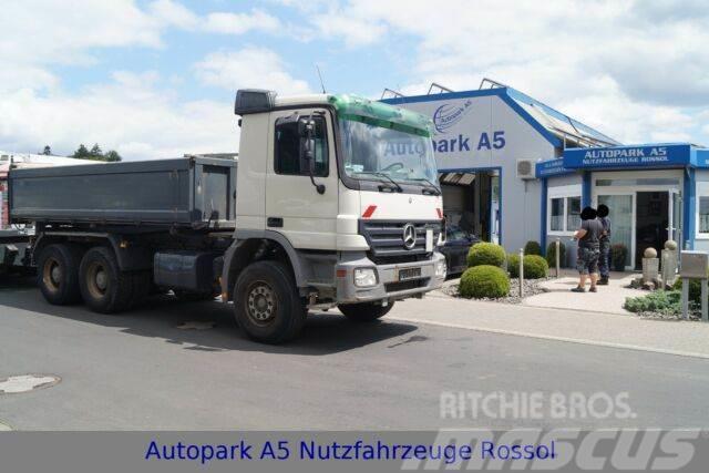 Mercedes-Benz Actros 2644 6x4 Klima Tempomat Meiller Kipper