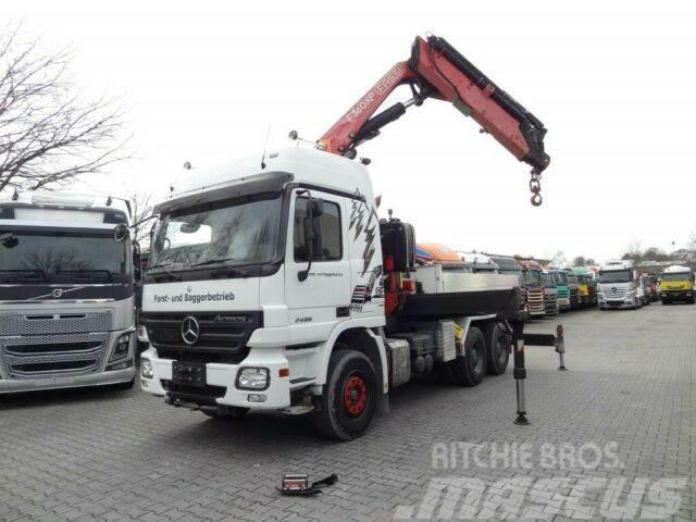 Mercedes-Benz ACTROS 2646 6X4 mit FASSI F360XP