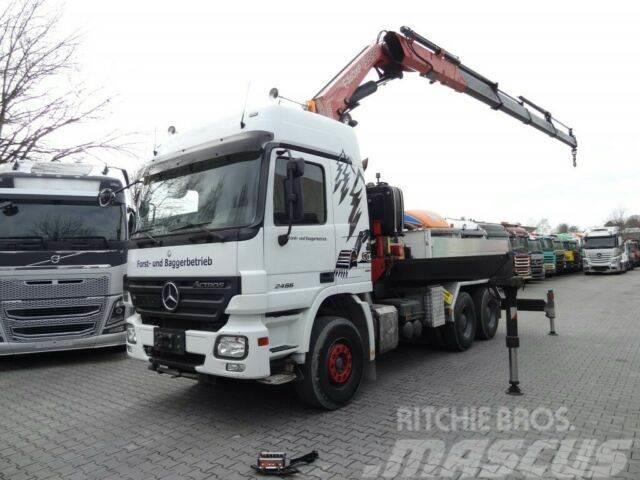Mercedes-Benz ACTROS 2646 6X4 KRAN FASSI 36 T/M