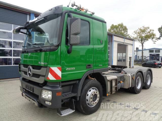 Mercedes-Benz Actros 2655 LS, MP3, V8, 6x4, Hydraulik, Euro 5