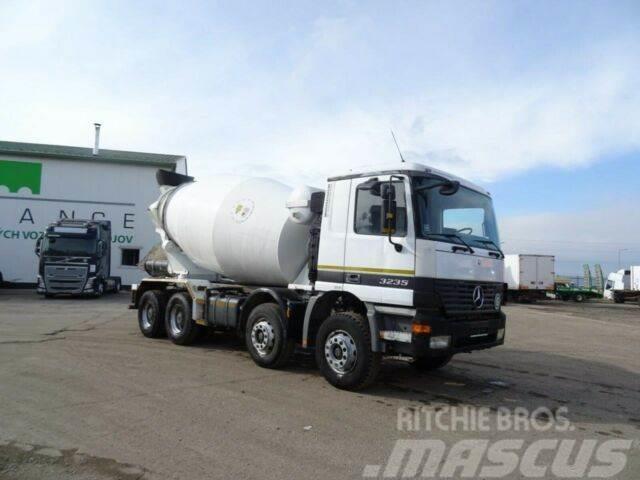 Mercedes-Benz ACTROS 3235 8x4 betonmixer,9m3,E3,vin 978