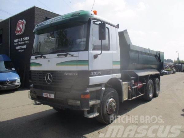 Mercedes-Benz ACTROS 3335 ak manual