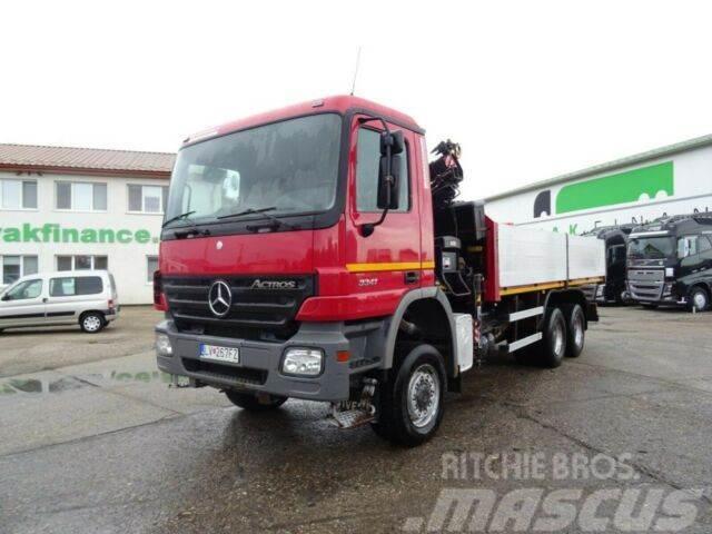 Mercedes-Benz ACTROS 3341 6x6 with hydraulic crane,vin 454