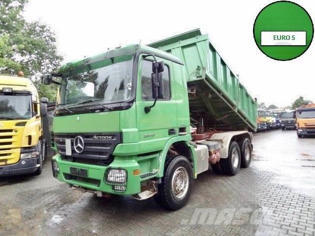 Used mercedes benz actros 3346 k 6x4 meiller dump trucks for Mercedes benz f cell price