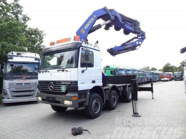 Mercedes-Benz ACTROS 4143 S 8X4 KRAN Palfinger 75 T/M