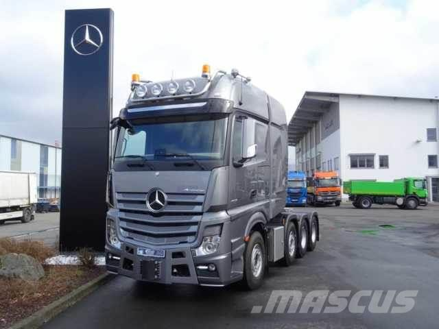 Mercedes-Benz Actros 4163 8x4 LS SLT 250 Tonnen Euro 6 Standk
