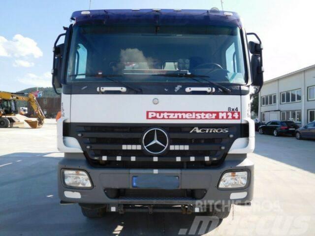 Mercedes-Benz Actros PUMI M24,concrete pump,manual,E4 8X4,636