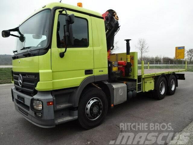 Mercedes-Benz Actros2641Pr.6x4/Palfinger/Funk/64Tkmorig/1´Hand