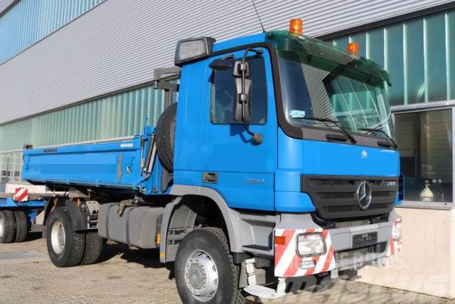 Used mercedes benz allradkipper 1844 ak 4x4 dump trucks for Mercedes benz f cell price