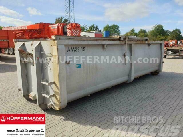 Mercedes-Benz // Alustahl Abrollcontainer 23 cbm gebraucht