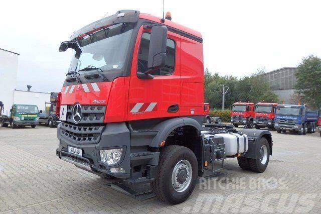 Mercedes-Benz Arocs 2043 4x4 Euro6 SZM Kipphydraulik XL-Kabine