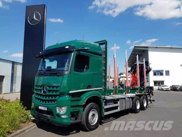 Mercedes-Benz Arocs 2651 L 6x4 + Kran: Epsilon M12Z91