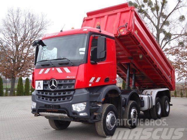 Mercedes-Benz AROCS 4142 8x6 EURO6 DSK Meiller