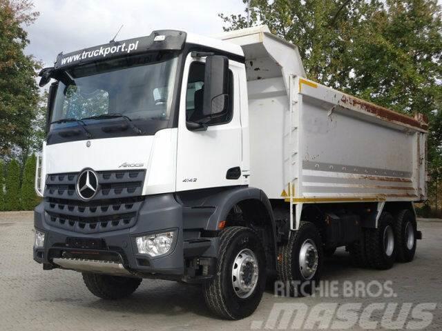 Mercedes-Benz AROCS 4142 8x4 EURO6 Muldenkipper Hardox TOP!