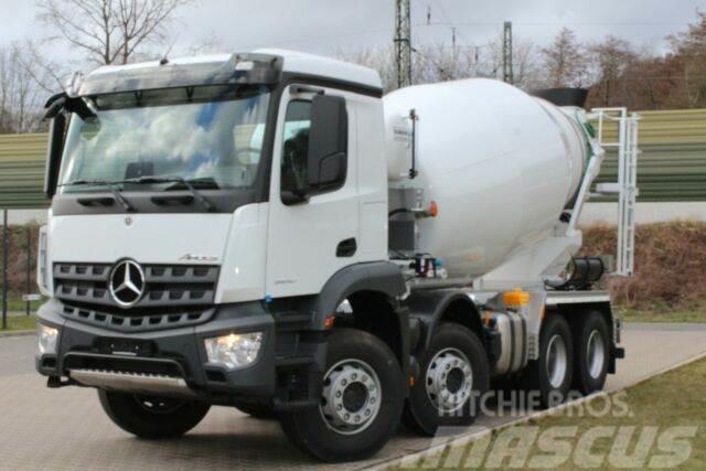 Mercedes-Benz Arocs 5 3540 8X4 / Euro6d EuromixMTP EM 10 L