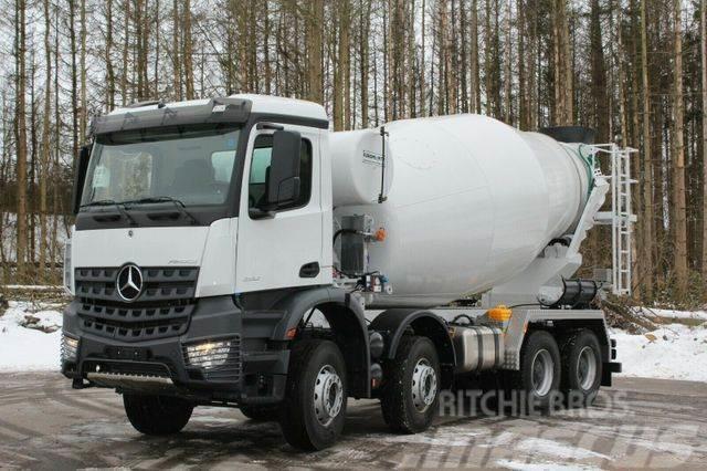 Mercedes-Benz AROCS 5 4142 8x4 Euro6d EuromixMTP EM 12m R
