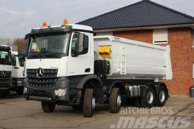 Mercedes-Benz Arocs 5 4142 8X4 Euro6d Kipper Euromix TM 18m