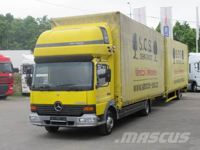 Mercedes-Benz ATEGO 1018 L + PANAV , SLEEPING BODY